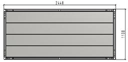 TLC platformas klājs 1.10 x 2.44m