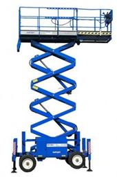 Saksilava (dieselkäyttöinen, 4WD) 8,28 m