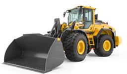 Hjullastare, <3.9m3, Vikt 19.9t, Tipplast 5850kg