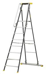 Ladders -working platform, h-1,97m, (total h-2,73m
