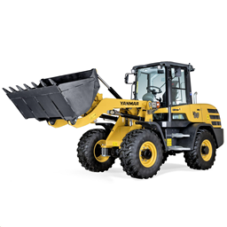 Wheel Loader 4900kg, Tipping load  incl. std bucket & pallet forks